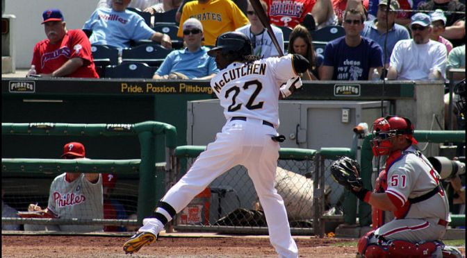 Is Andrew McCutchen the Fourth Best Fantasy Baseball Pick?