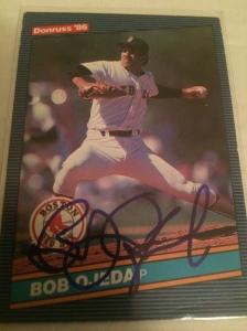 Bob  Ojeda Autograph