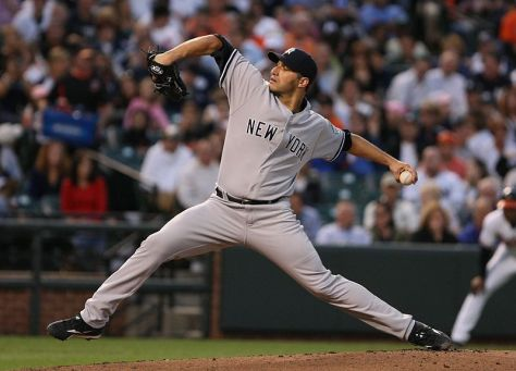 """By Keith Allison on Flickr. Cropped by User:Staxringold. (Originally posted to Flickr as """"Andy  Pettitte"""") [CC BY-SA 2.0 (http://creativecommons.org/licenses/by-sa/2.0)], via Wikimedia Commons"""