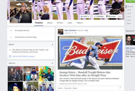 alex gordon facebook