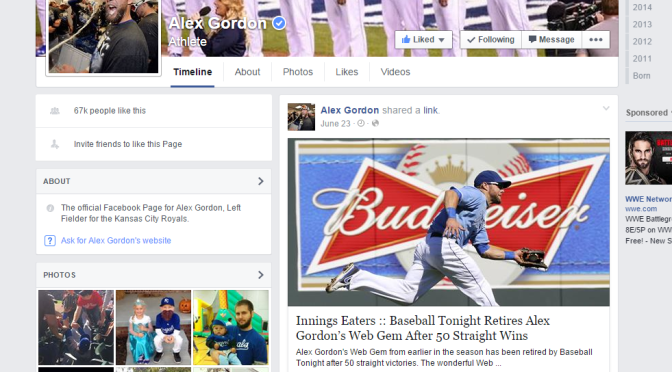 How Kansas City Royals' All-Star Outfielder Alex Gordon Gave Me $105