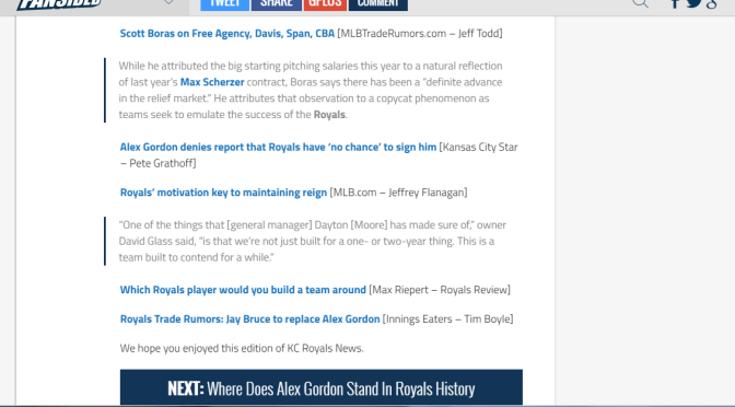 Jay Bruce Trade Rumors Article Lands on Fansided Page KC Kingdom